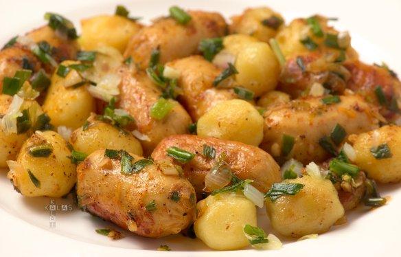 Kalas Sausage and Potato Fry - Kalas Kalai